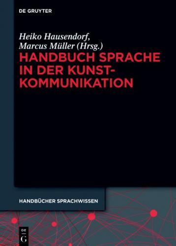 Handbuch Sprache in der Kunstkommunikation (Ebook - EPUB)