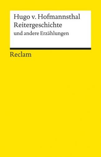 Reitergeschichte und andere Erzählungen