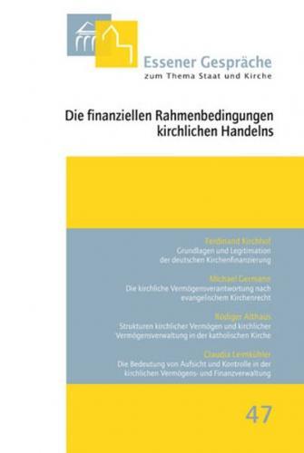 Die finanziellen Rahmenbedingungen kirchlichen Handelns