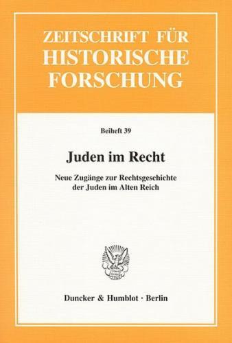 Juden im Recht.