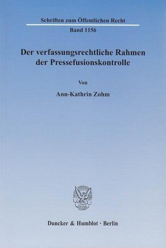 Der Bundesstaat in Zeiten der Finanzkrise. (Ebook - pdf)
