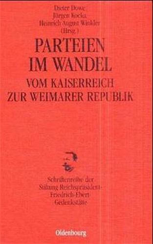 Parteien im Wandel vom Kaiserreich zur Weimarer Republik
