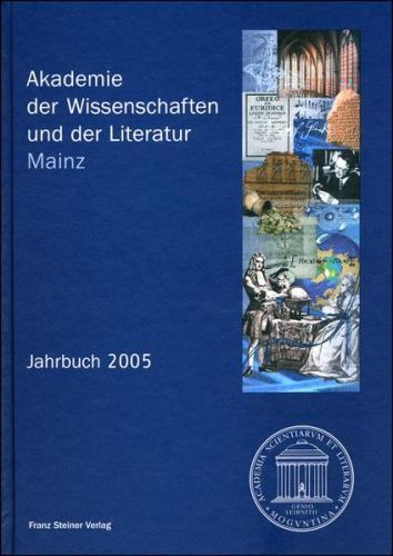 Akademie der Wissenschaften und der Literatur Mainz – Jahrbuch 56 (2005)