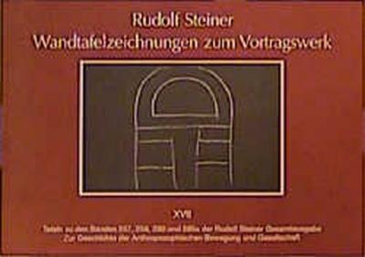 Wandtafelzeichnungen zum Vortragswerk, Bd. XVII