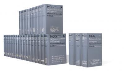 Die Musik in Geschichte und Gegenwart (MGG). Sachteil in neun Bänden und Register