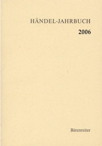 Händel-Jahrbuch / Händel-Jahrbuch