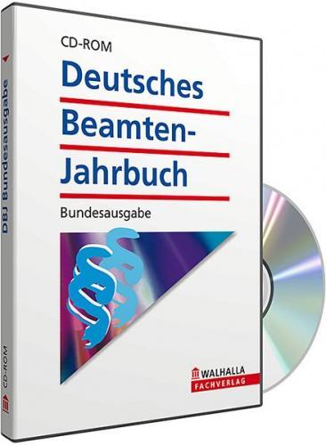 CD-ROM DBJ - Deutsches Beamten-Jahrbuch Bund Datenbank (Grundversion) (Audio-CD)