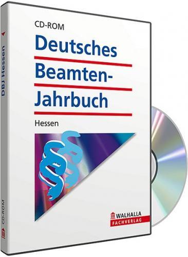 CD-ROM DBJ - Deutsches Beamten-Jahrbuch Hessen Datenbank (Grundversion) (Audio-CD)