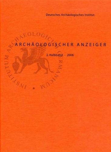 Archäologischer Anzeiger / Archäologischer Anzeiger