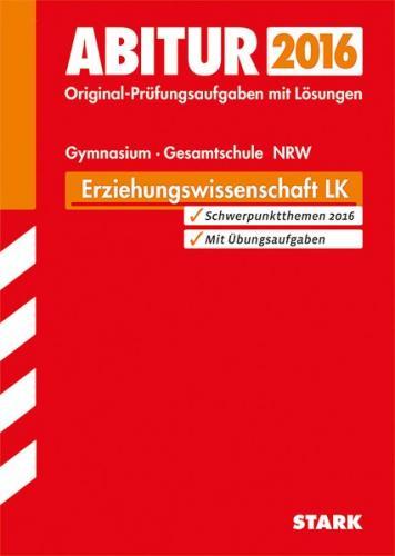 Abiturprüfung NRW Erziehungswissenschaft LK