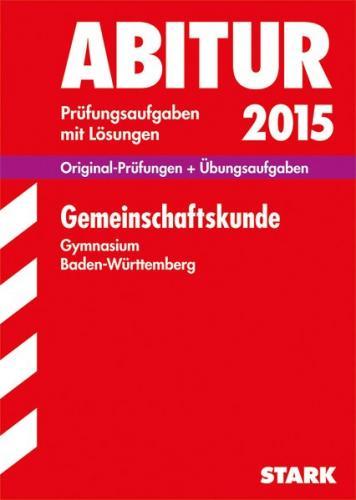 Abiturprüfung Baden-Württemberg - Gemeinschaftskunde