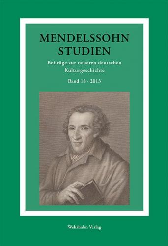 Mendelssohn-Studien 18