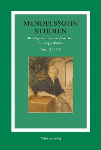 Mendelssohn-Studien 19