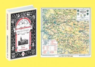 Bau- und Kunstdenkmäler des Kreises HEILIGENSTADT 1909. Buch und Karte