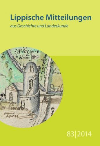 Lippische Mitteilungen aus Geschichte und Landeskunde / Lippische Mitteilungen aus Geschichte und Landeskunde
