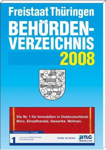 Behördenverzeichnis Freistaat Thüringen 2008