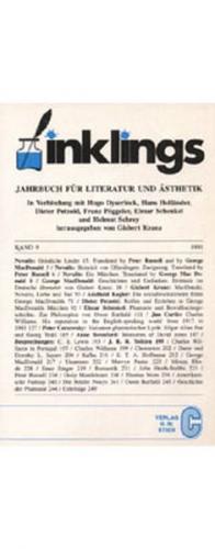 Inklings-Jahrbuch für Literatur und Ästhetik
