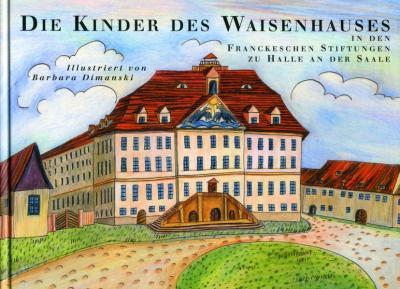 Die Kinder des Waisenhauses in den Franckeschen Stiftungen zu Halle an der Saale