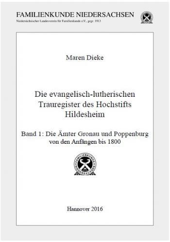 Die evangelisch-lutherischen Trauregister des Hochstifts Hildesheim