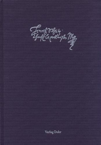 Schütz-Dokumente 1: Schriftstücke von Heinrich Schütz