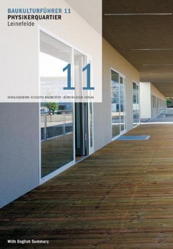 Baukulturführer 11 - Physikerquartier Leinefelde