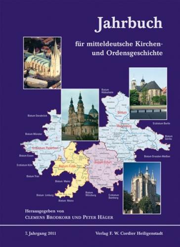 Jahrbuch für mitteldeutsche Kirchen- und Ordensgeschichte