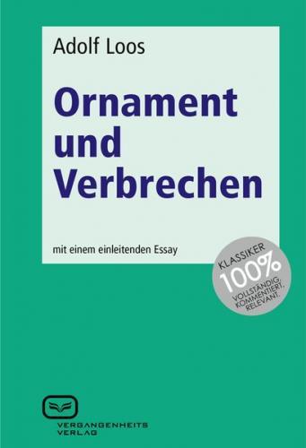 Ornament und Verbrechen (Ebook - pdf)