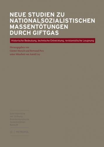 Neue Studien zu nationalsozialistischen Massentötungen durch Giftgas
