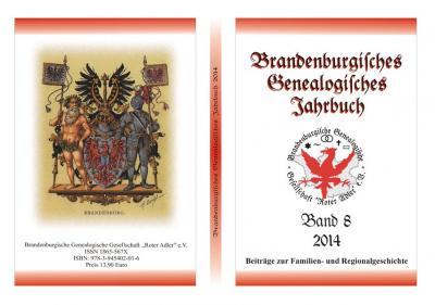 Brandenburgisches Genealogisches Jahrbuch / Brandenburgisches Genealogisches Jahrbuch 2014
