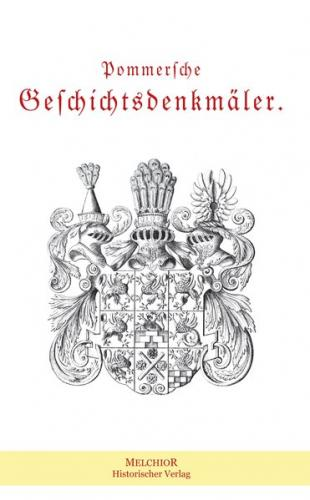 Pommersche Geschichtsdenkmäler