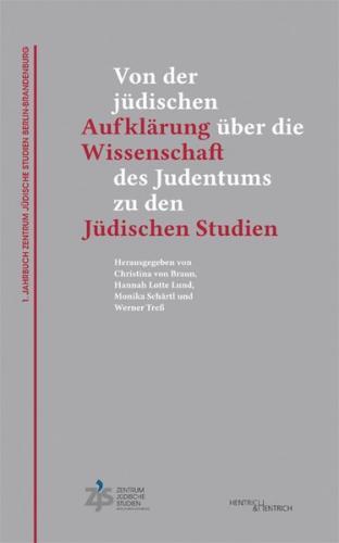 1. Jahrbuch Zentrum Jüdische Studien Berlin-Brandenburg