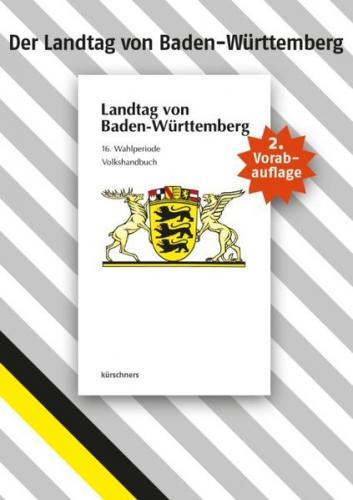 Sonderausgabe Landtag von Baden-Württemberg