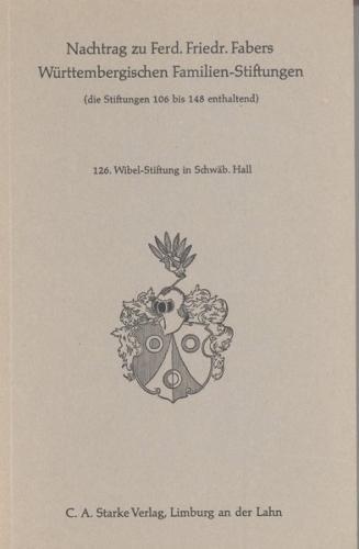 Wibel-Stiftung in Schwäbisch Hall