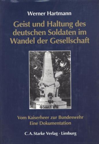 Geist und Haltung des deutschen Soldaten im Wandel der Gesellschaft