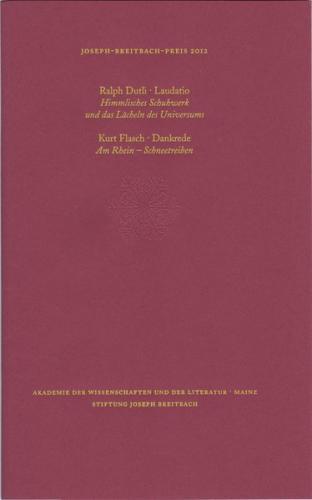 Joseph-Breitbach-Preis 2012